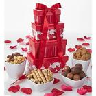 Be Mine Valentine Chocolate and Sweets Gift Tower