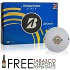 Tabasco Brand Diamond Design Golf Balls
