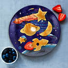 Crack a Smile Space Breakfast Mold and Plate Set