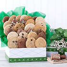 Deluxe Cookie and Brownie Winter Assortment Gift Box