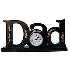 Personalized Dad Clock