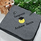 Graduation Fleece Throw Blanket