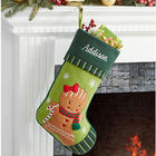 Personalized Holiday Magic Christmas Stocking