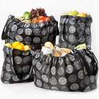 5 Sachi Market Tote Reusable Shopping Bags