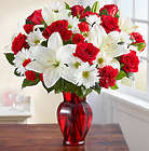 Red & White Delight Large Bouquet