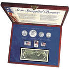 Star Spangled Coin & Stamp Box Set