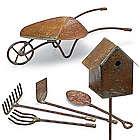 6 Mini Garden Tool Decorations