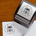 Damask Greetings Self-Inking Address Stamper