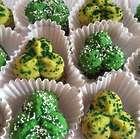 4 Dozen Spritz Almond Shamrock Cookies Gift Box