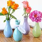 Pastel Ceramic Favor Vases