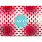Lattice Cherry Personalized Cutting Board