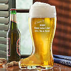 Cheers to You Personalized Glass Beer Boot