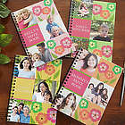 Photo Collage Personalized Mini Notebook Set