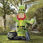 St. Patrick's Day Leprechaun Inflatable
