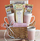 Morning Brew For Two Gift Basket with Mugs