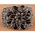 Opulent Jeweled Flower Bracelet