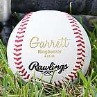 Personalized Wedding Party Baseball
