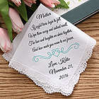 Joyful Tears Personalized Wedding Handkerchief