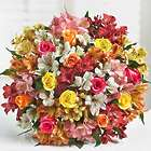 Assorted Roses & Peruvian Lilies Double Bouquet