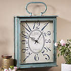 Distressed Square Clock