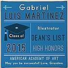 Personalized Class of Your Own Graduation Canvas Print