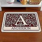 Personalized Family Initial Comfort Mat