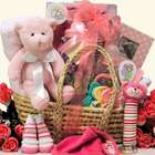 Baby Essentials Gift Basket for Girl