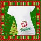 Elf in Training Christmas Maternity T-Shirt