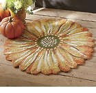 Indoor/Outdoor 3 Foot Sunflower Mat