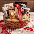 Best with Beer Snack Basket with Valentine's Day Ribbon