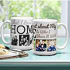 Personalized Heart of the Home Mug