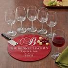 Personalized 8-Piece Decorative Wine Service Set