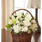 Peace, Prayers, and Blessings Bouquet in All White