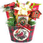 From Our House To Yours Cardinal Christmas Basket