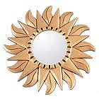 Sunflower Gilded Wood Metallic Mirror