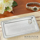 Personalized String of Pearls Jewelry Tray