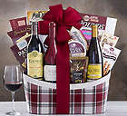 Wagner Family of Wine Red and White Wine Trio Gift Basket