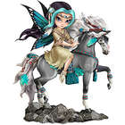Native American-Inspired Dreamchaser Fairy Maiden Figurine