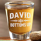 Raise Your Glass Personalized Shot Glass