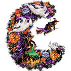 Witches Halloween Wreath