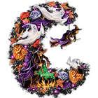 Witches Halloween Wreath