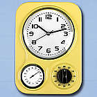 Retro Kitchen Clock and Timer