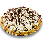 Chocolate Cream Pie with Whipped Cream