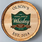 Private Label Whiskey Barrel Sign