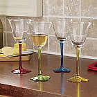 Floral Wine Glasses Gift Set