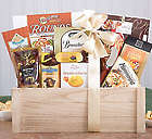 Gourmet Wood Gift Crate