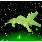 Alligator Glow in the Dark 3D Jigsaw Puzzle
