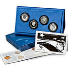 50th Anniversary Kennedy Silver Half Dollars Coin Set