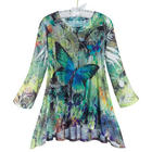 Butterfly Dance 2-Piece Tunic and Tank Top