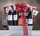 Steeplechase Vineyards California Trio Gift Basket